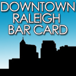 Downtown Raleigh Bar Card