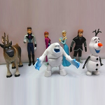 Frozen Inspired 7 Piece Action Figures Set - $25 with FREE Shipping!
